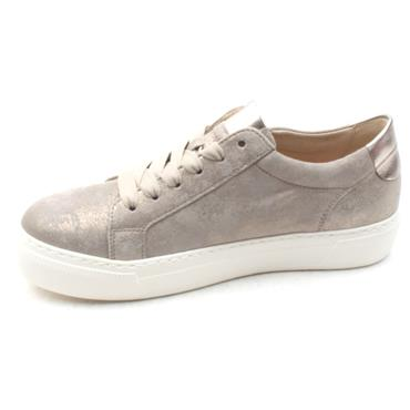 GABOR 23314 LACED SHOE - TAUPE