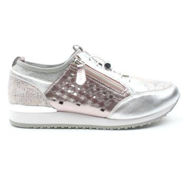 CAPRICE 23500 LACED SHOE - LIGHTPINK