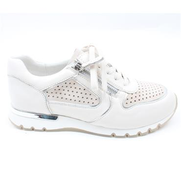 CAPRICE 23503 LACED SHOE - ICE WHITE