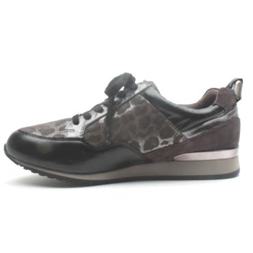 CAPRICE 23600 LACED CASUAL SHOE - GREY MULTI
