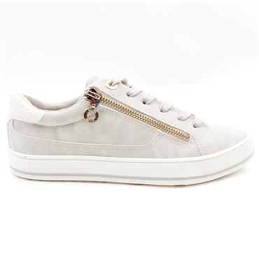 SOLIVER 23615 LACED SHOE - CREAM