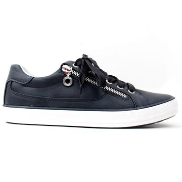 SOLIVER 23615 LACED SHOE - NAVY