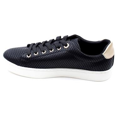 SOLIVER 23625 LACED SHOE - BLACK/WHITE