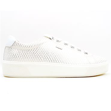 SOLIVER 23625 LACED SHOE - WHITE