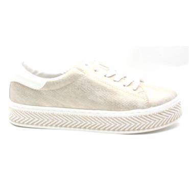 SOLIVER 23636 LACED SHOE - GOLD