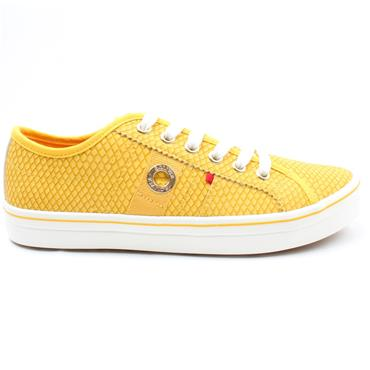 SOLIVER 23640 LACED SHOE - YELLOW