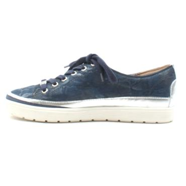 CAPRICE 23654 LACED SHOE - DENIM