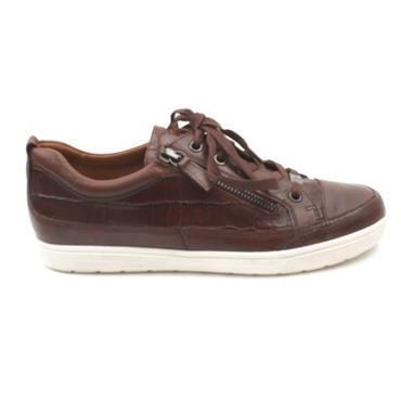 CAPRICE 23655 LACED SHOE - TAN