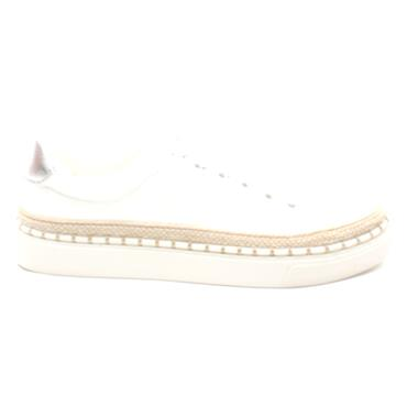 SOLIVER 23679 LACED SHOE - WHITE