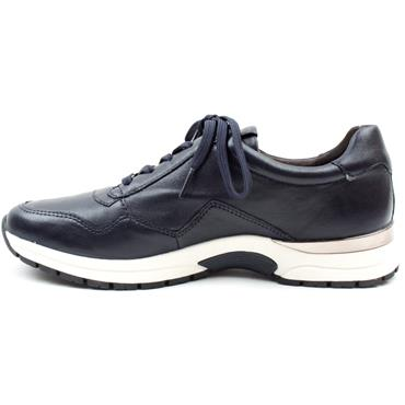 CAPRICE 23701 LACED SHOE - NAVY