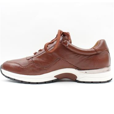 CAPRICE 23701 LACED SHOE - TAN