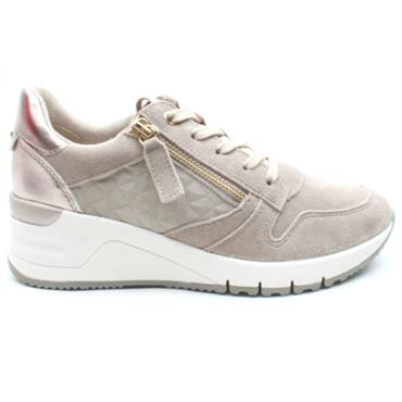 TAMARIS 23702 LACED SHOE - TAUPE