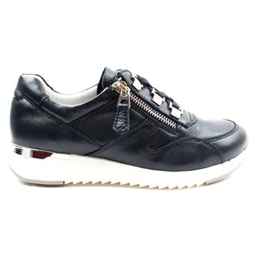 CAPRICE 23704 LACED SHOE - NAVY