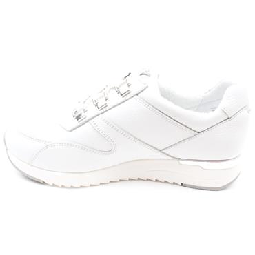 CAPRICE 23704 LACED SHOE - WHITE