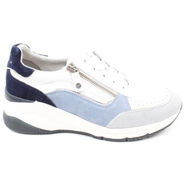 TAMARIS 23720 LACED RUNNER - BLUE MULTI