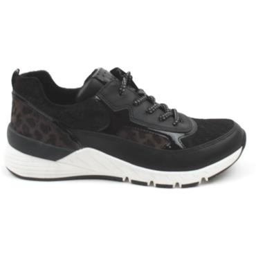 MARCO TOZZI 23734 LACED SHOE - BLACK MULTI