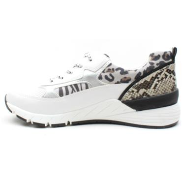 MARCO TOZZI 23734 LACED SHOE - WHITE MULTI