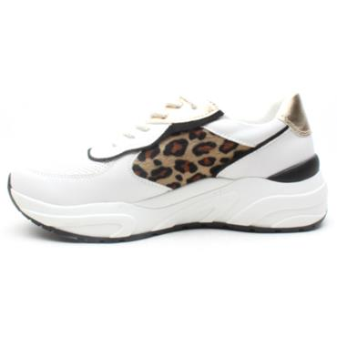 MARCO TOZZI 23745 LACED RUNNER - WHITE