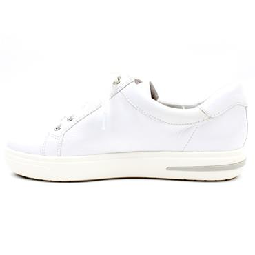 CAPRICE 23753 LACED SHOE - WHITE