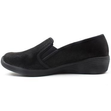 SKECHERS 23781 ARYA SWEET SHOE - BLACK/BLACK