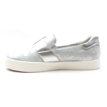 CAPRICE 24202 SLIP ON SHOE - SILVER
