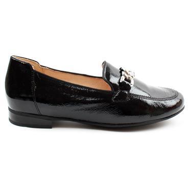 CAPRICE 24203 SLIP ON SHOE - BLACK PATENT