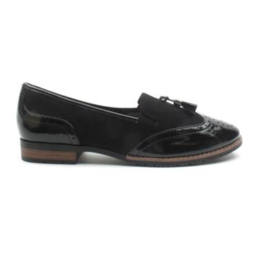 JANA LOAFER SHOE 24260 - Black