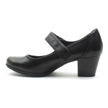 JANA 24366 STRAP SHOE - Black