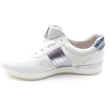 GABOR 24421 LACED SHOE - WHITE PURPLE