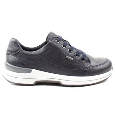 ARA 24515 WIDE FIT LACED SHOE - NAVY