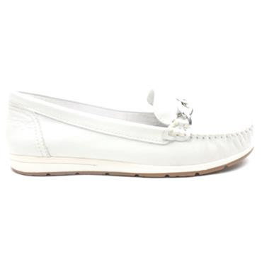 MARCO TOZZI 24602 FLAT SHOE - WHITE