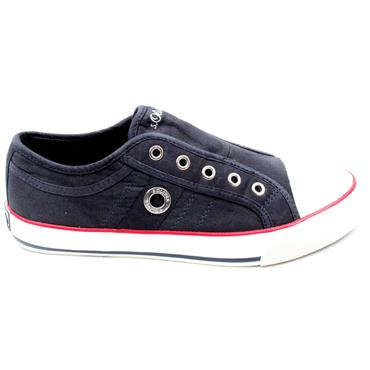 SOLIVER 24635 CANVAS SHOE - NAVY
