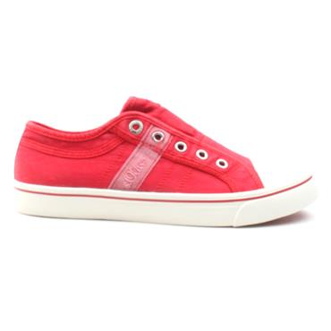 SOLIVER 24635 CANVAS SHOE - RED