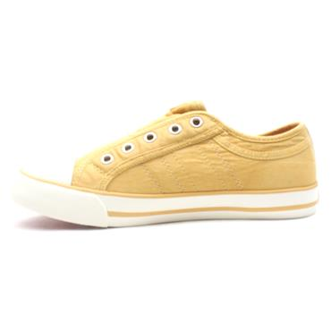 SOLIVER 24635 CANVAS SHOE - YELLOW