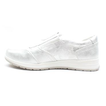 JANA 24661 ZIP SHOE - WHITE MULTI