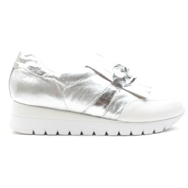 CAPRICE 24700 LACED SHOE - SILVER