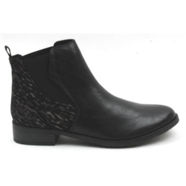 MARCO TOZZI 25039 ANKLE BOOT - Black