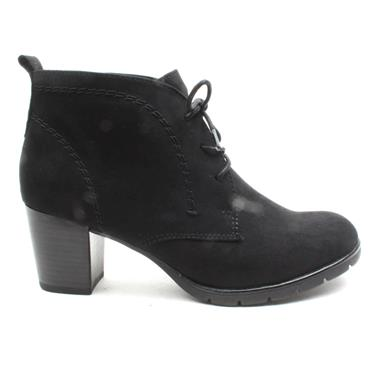 MARCO TOZZI 25107 LACED BOOT - Black