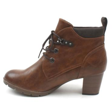 MARCO TOZZI 25122 LACED ANKLE BOOT - TAN