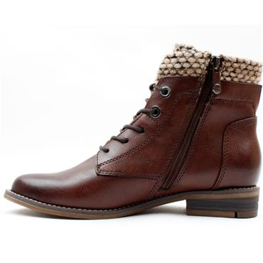 MARCO TOZZI 25199 LACED BOOT - TAN