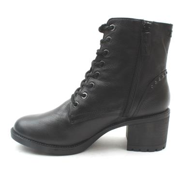 TAMARIS 25206 LACED ANKLE BOOT - Black