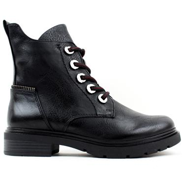 MARCO TOZZI 25230 LACED BOOT - Black
