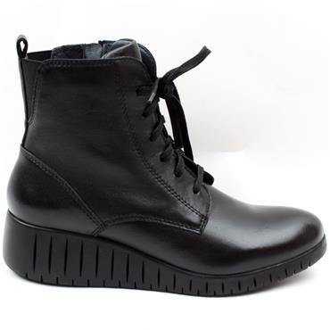 MARCO TOZZI 25235 LACED BOOT - Black