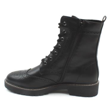 SOLIVER 25254 LACED BOOT - Black