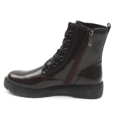 MARCO TOZZI 25282 LACED BOOT - BURGUNDY