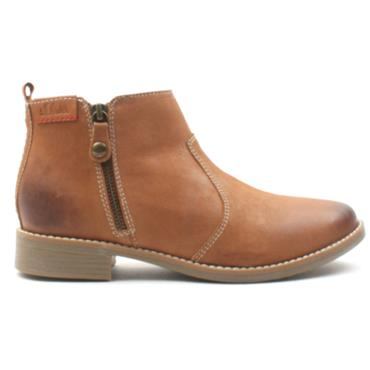 SOLIVER 25300 ANKLE BOOT - Tan