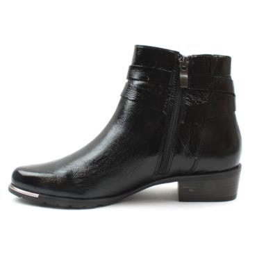 CAPRICE 25309 ANKLE BUCKLE BOOT - Black