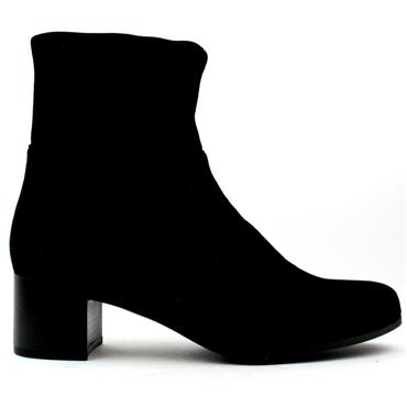 CLIMOTION LOW HEEL BOOT - Black