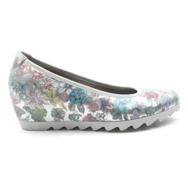 GABOR 25320 WEDGE SHOE - FLORAL