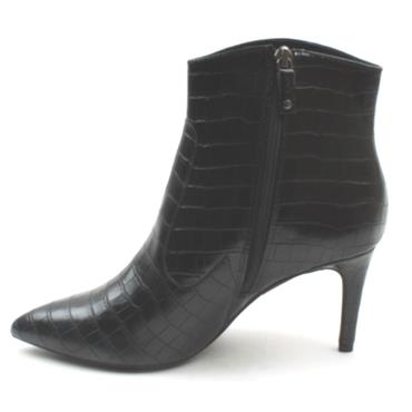 SOLIVER 25333 ANKLE BOOT - BLACKCROC